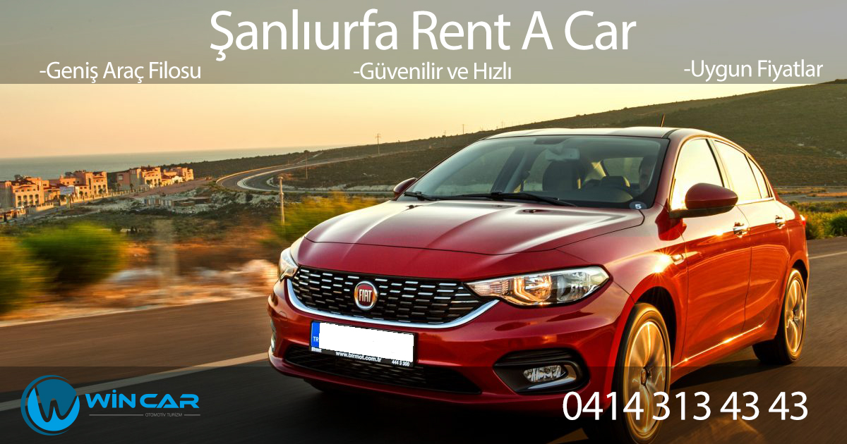 Rent A Car Viranşehir %>